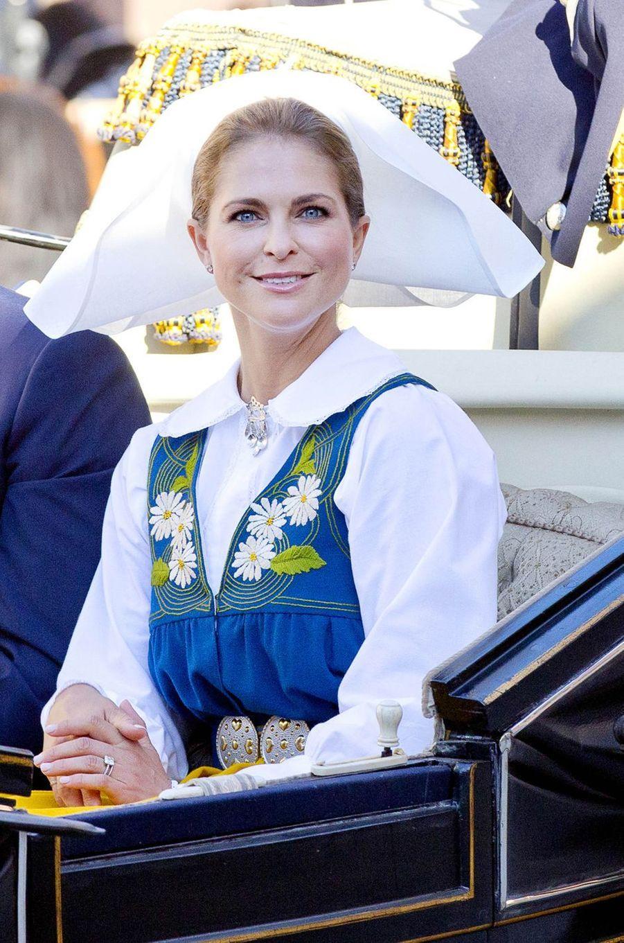 La princesse Madeleine de Suède à Stockholm, le 6 juin 2017