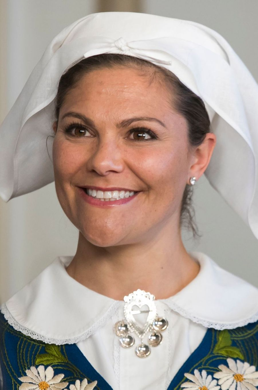 La princesse Victoria de Suède à Stockholm, le 6 juin 2017