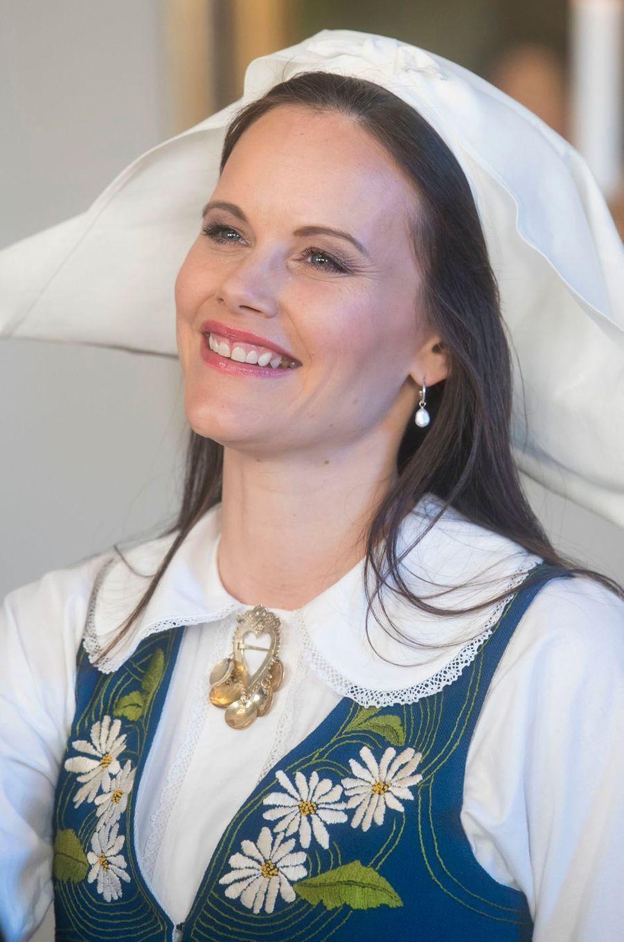 La princesse Sofia de Suède à Stockholm, le 6 juin 2017