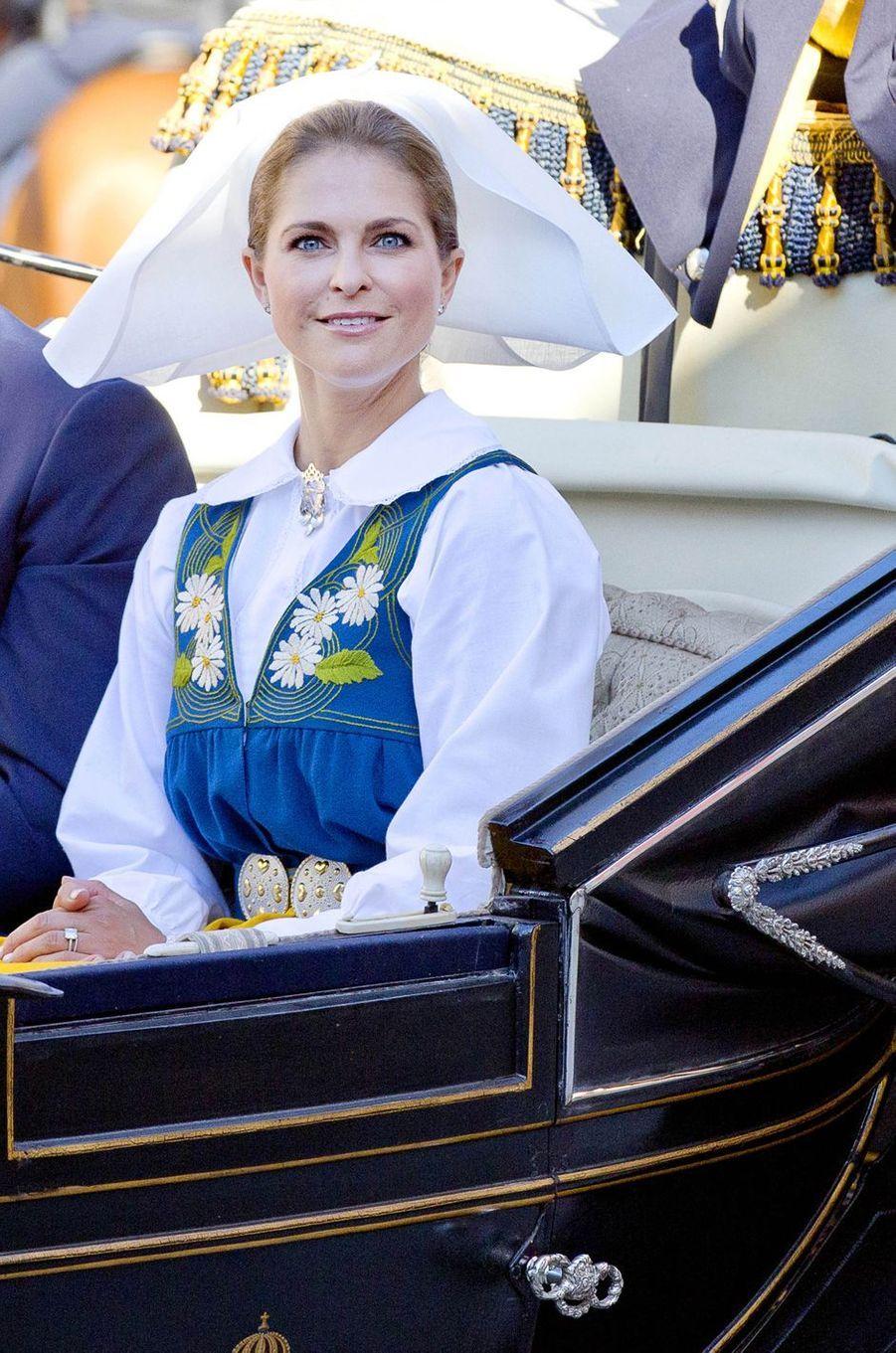 La princesse Madeleine de Suède, le 6 juin 2017