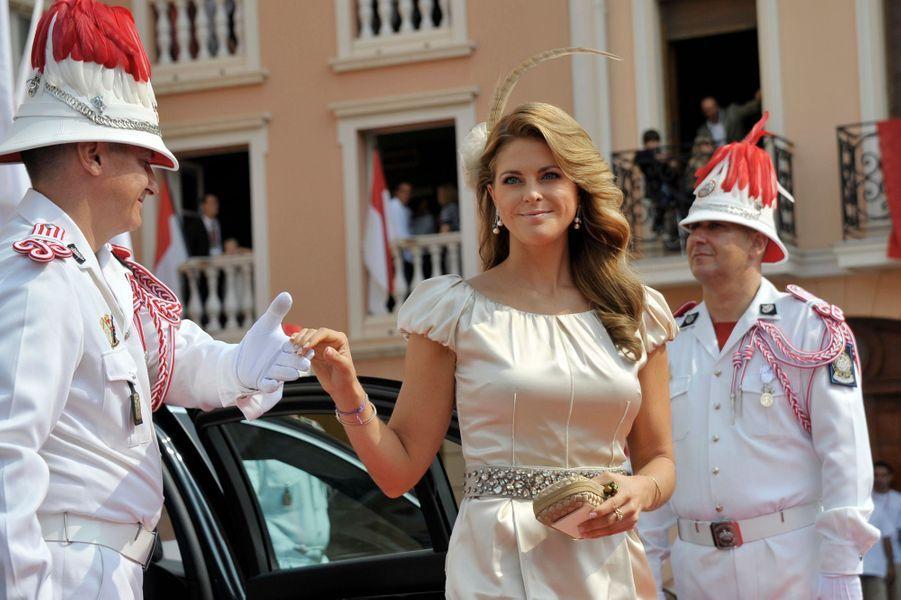 La princesse Madeleine de Suède, le 2 juillet 2011