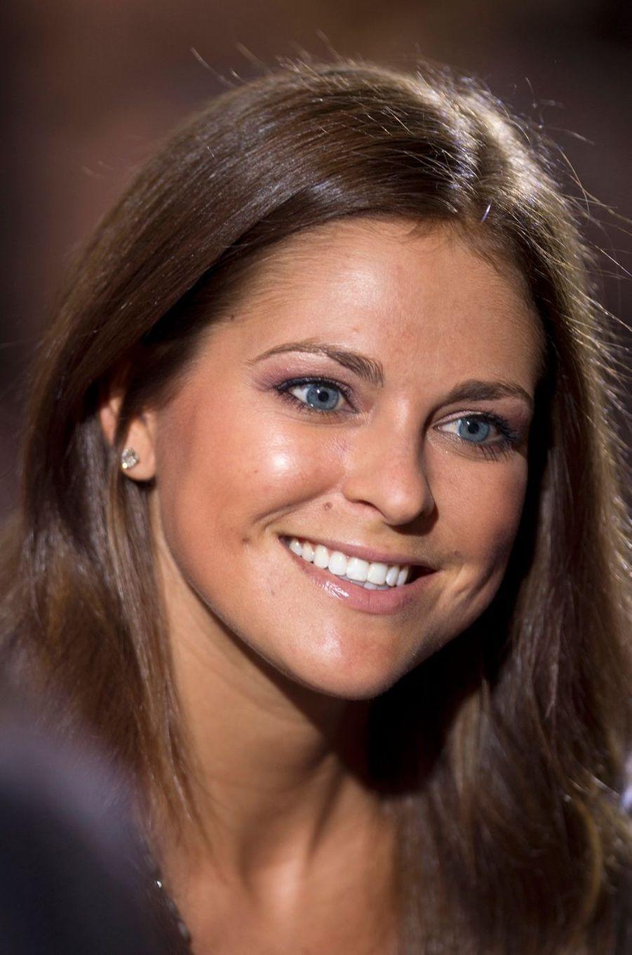 La princesse Madeleine de Suède, le 19 avril 2012