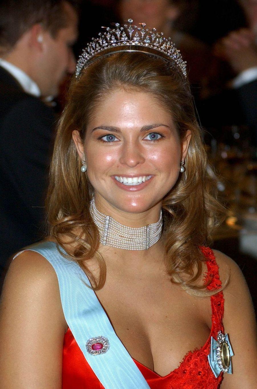La princesse Madeleine de Suède, le 10 décembre 2002