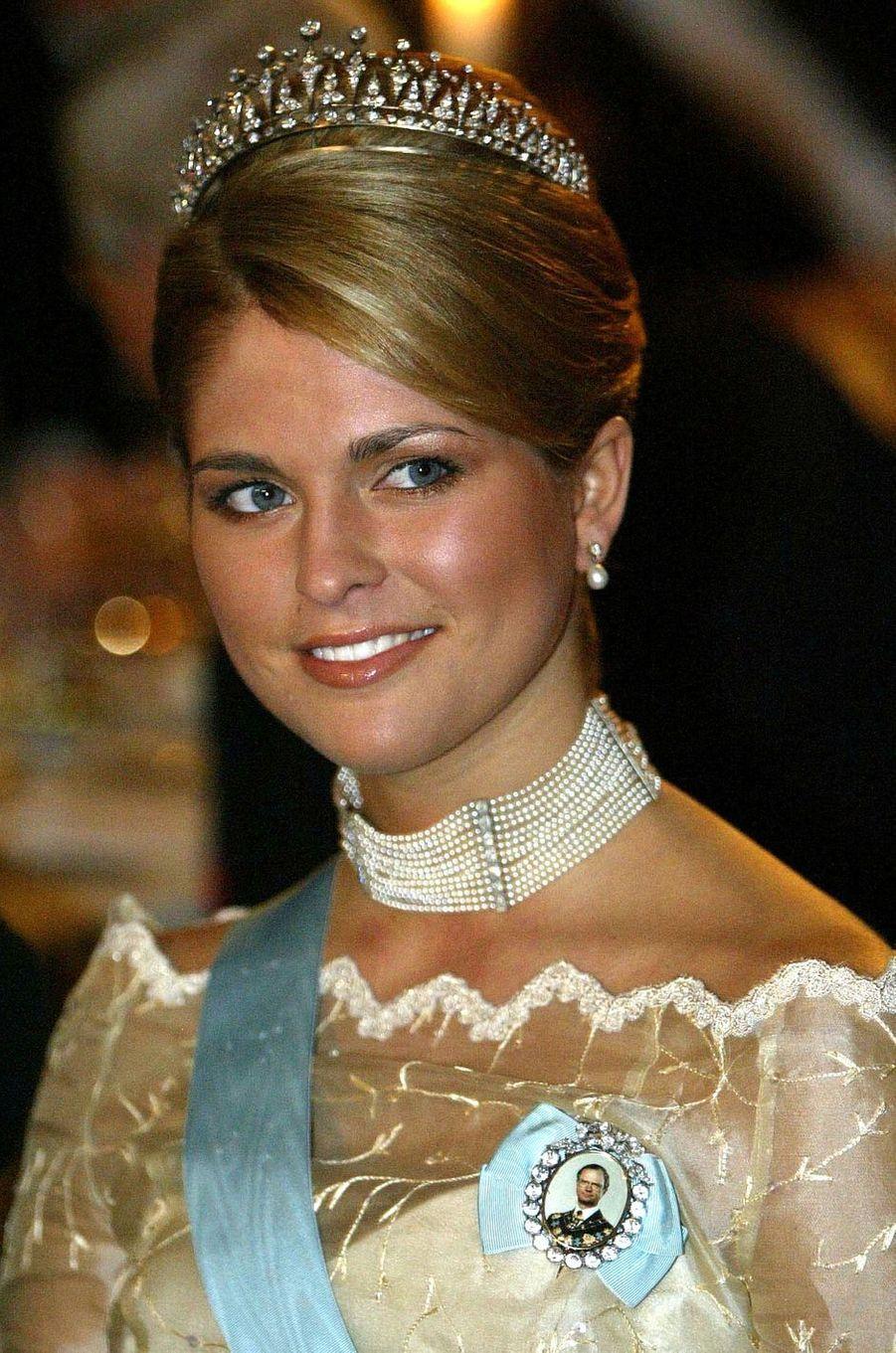 La princesse Madeleine de Suède, le 10 décembre 2003