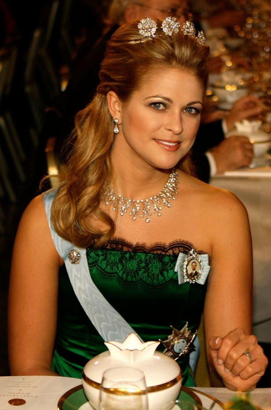 La princesse Madeleine de Suède, le 10 décembre 2009