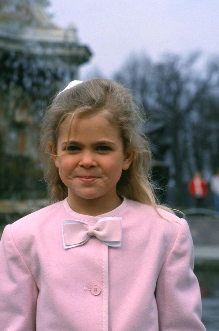 La princesse Madeleine de Suède, le 30 avril 1988