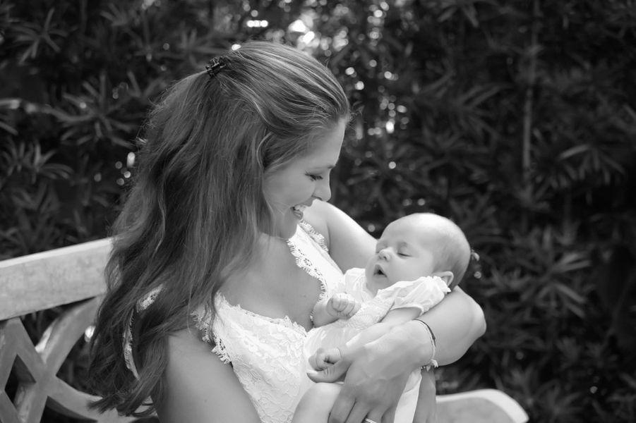 Ppremière photo officielle de la princesse Madeleine avec sa fille Leonore