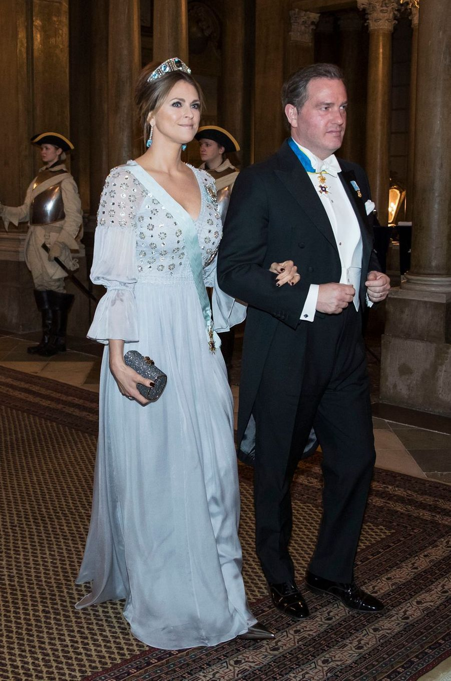 La princesse Madeleine de Suède et Christopher O'Neill à Stockholm, le 20 février 2017