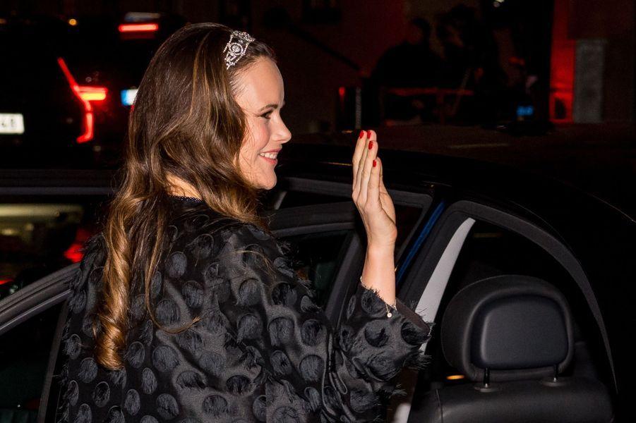 La princesse Sofia de Suède à Stockholm, le 20 décembre 2017