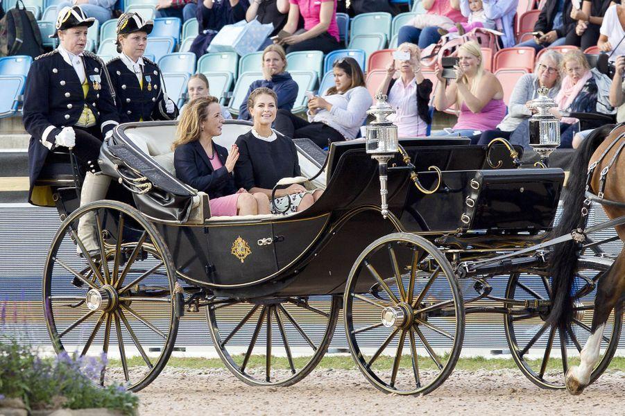 Princesse Madeleine de Suède à Göteborg, le 21 août 2017