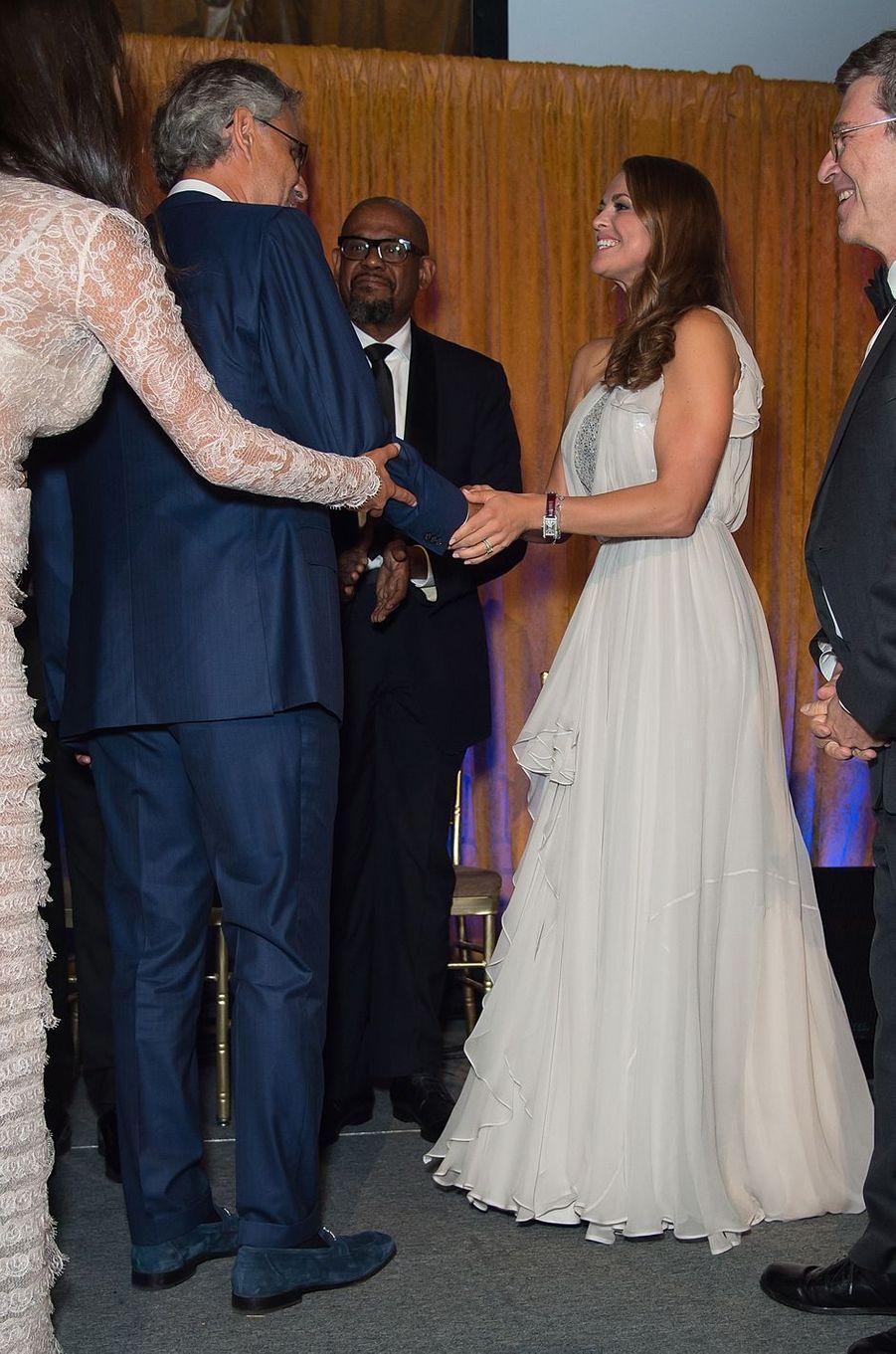 La princesse Madeleine de Suède à New York, le 16 septembre 2016