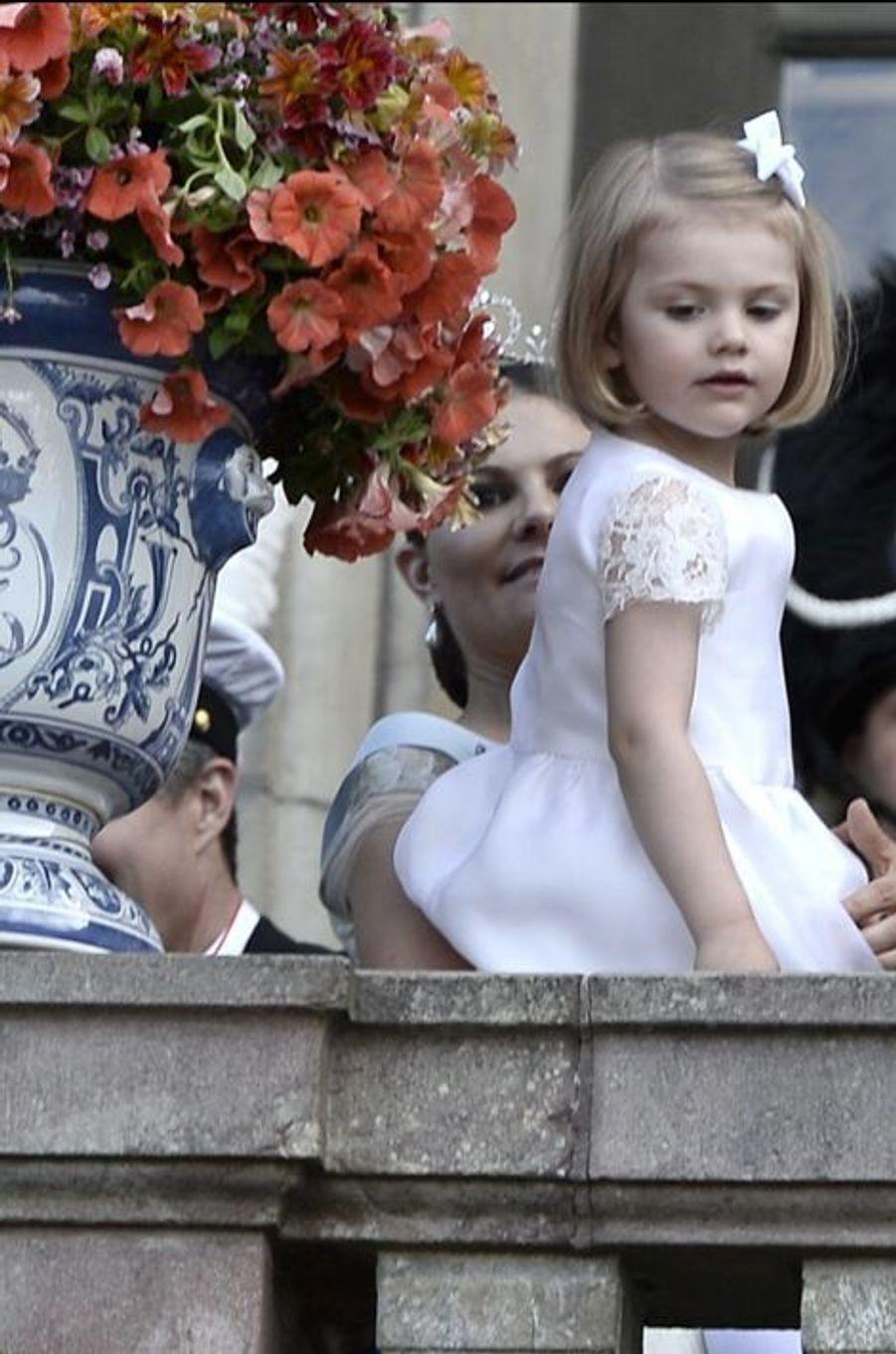 La princesse Estelle de Suède, le 13 juin 2015