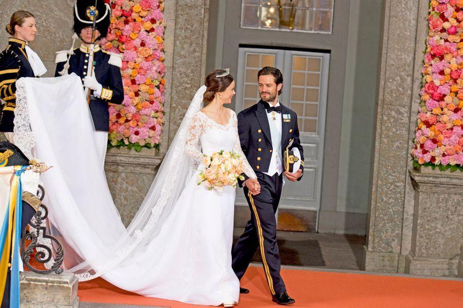 La princesse Sofia et le prince Carl Philip de Suède, le 13 juin 2015