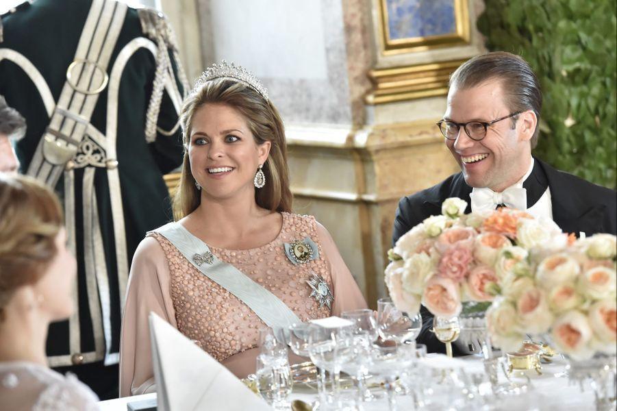 La princesse Madeleine de Suède et le prince consort Daniel, le 13 juin 2015