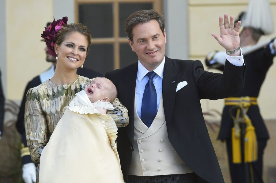 Le baptême du petit prince Nicolas