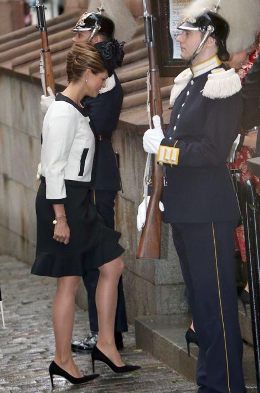 La princesse Madeleine de Suède à Stockholm, le 15 septembre 2015