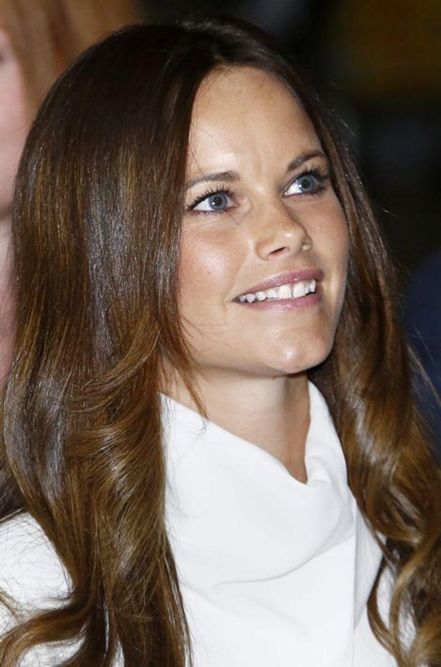 La princesse Sofia de Suède à Stockholm, le 19 août 2015
