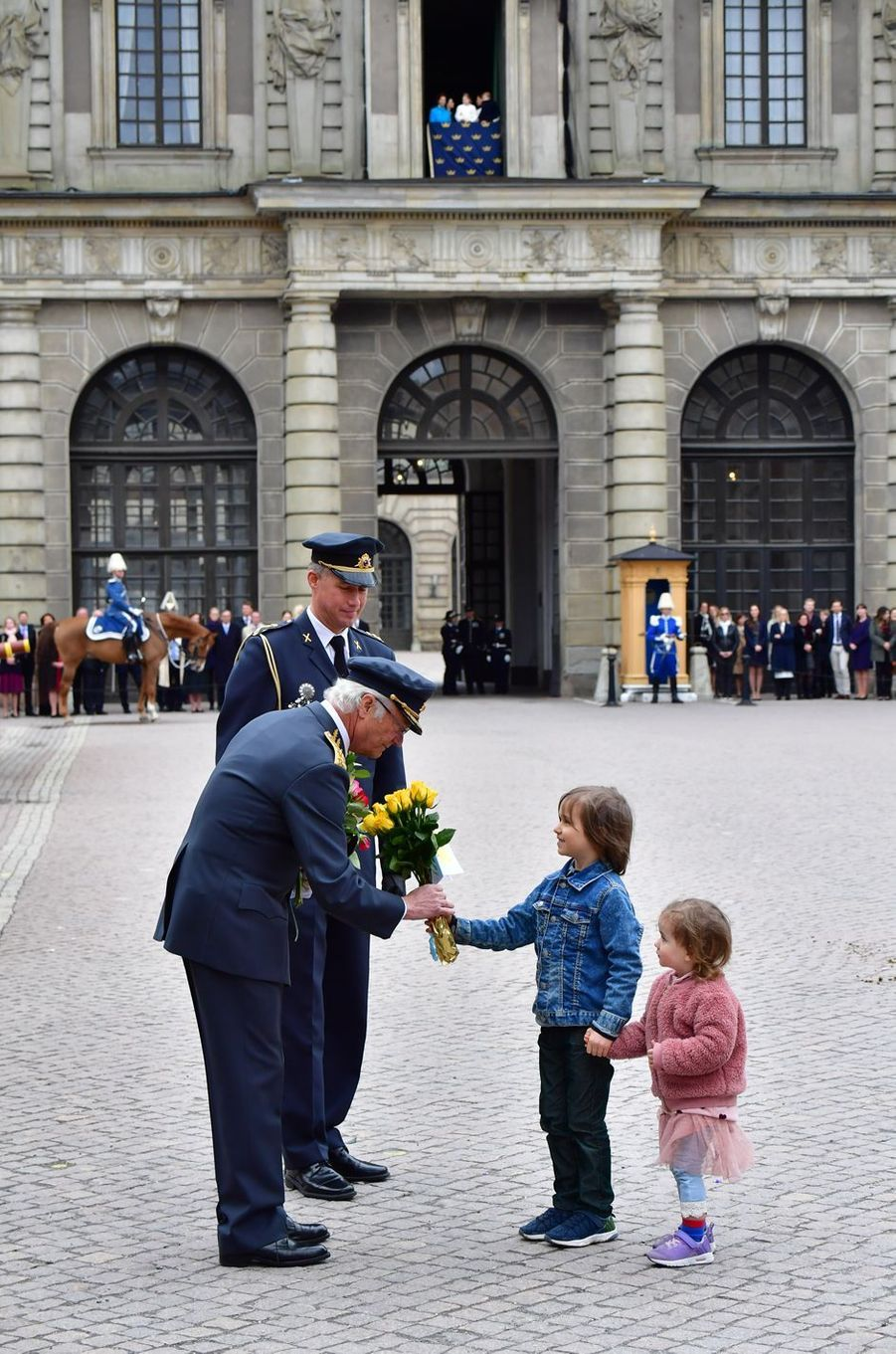 Le roi Carl XVI Gustaf de Suède à Stockholm, le 30 avril 2018