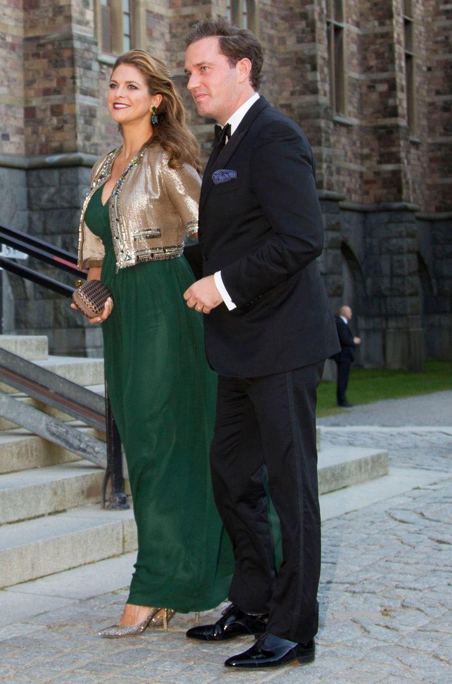 La princesse Madeleine de Suède dans une robe By Malina le 14 septembre 2013