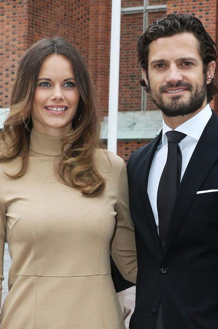 La princesse Sofia et le prince Carl Philip de Suède à Uppsala, le 22 septembre 2015