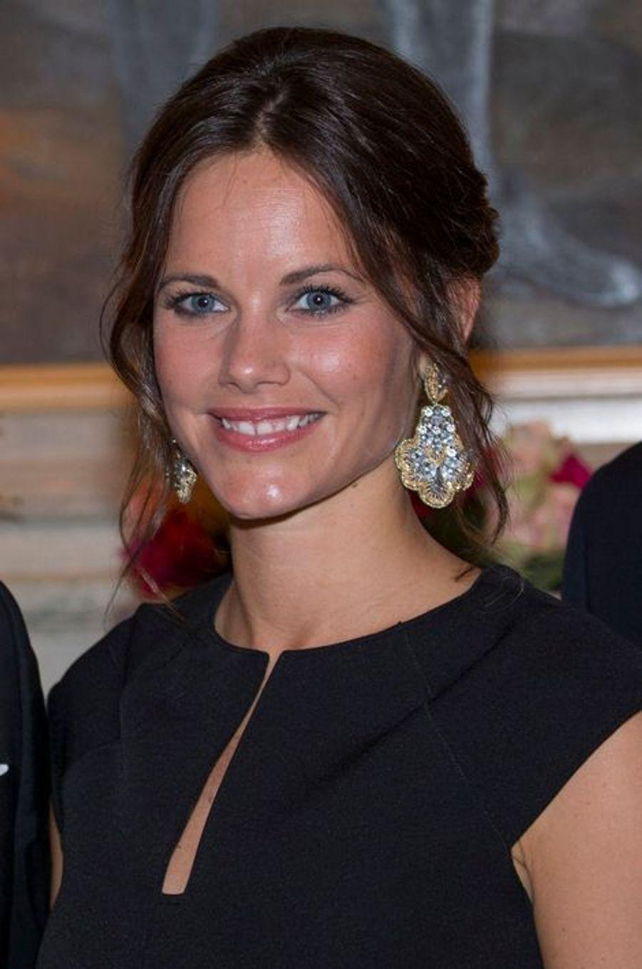 La princesse Sofia de Suède à Karlstad, le 26 août 2015