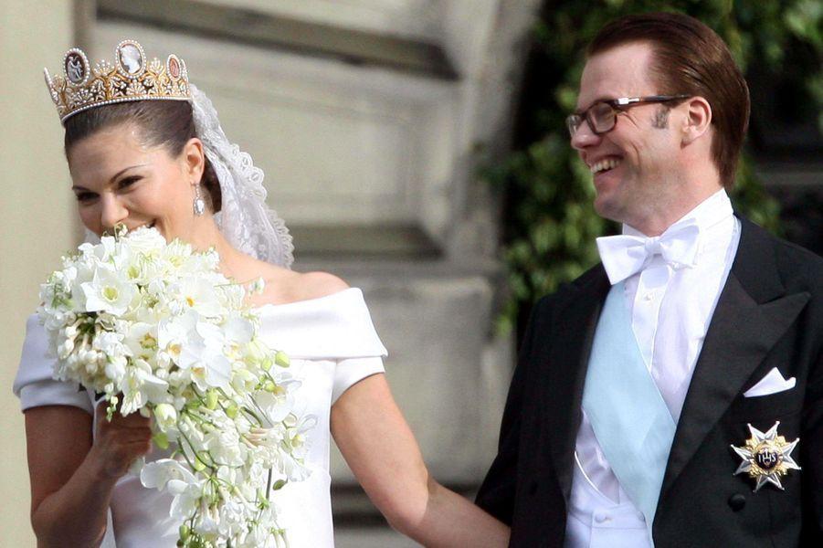 Princesse Victoria de Suède, à son mariage elle portait le diadème de Joséphine de Beauharnais