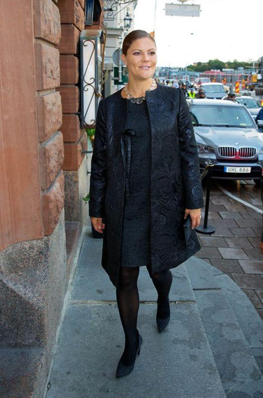 La princesse Victoria de Suède à Stockholm, le 21 septembre 2015