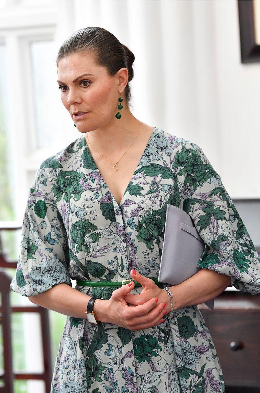 La princesse héritière Victoria de Suède à Hanoi le 6 mai 2019
