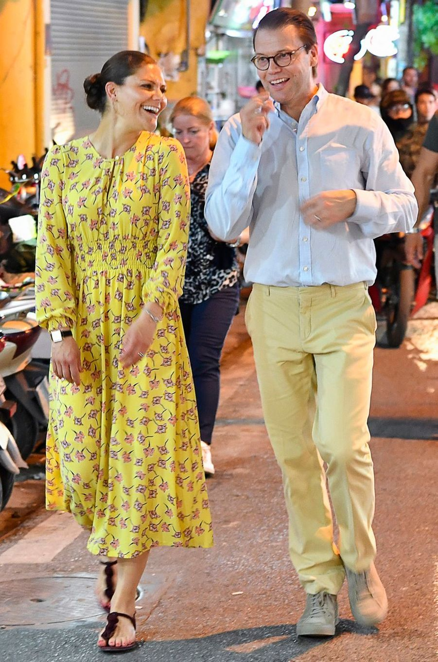 La princesse Victoria de Suède à Hanoi, le 6 mai 2019