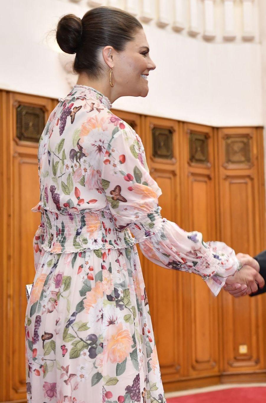 La princesse Victoria de Suède à Hanoi, le 7 mai 2019