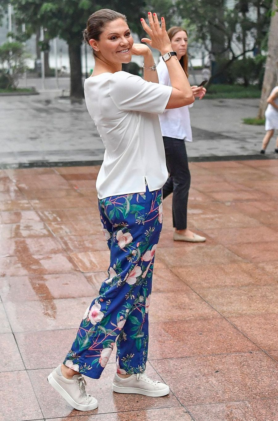 La princesse Victoria de Suède à Hanoi, le 8 mai 2019