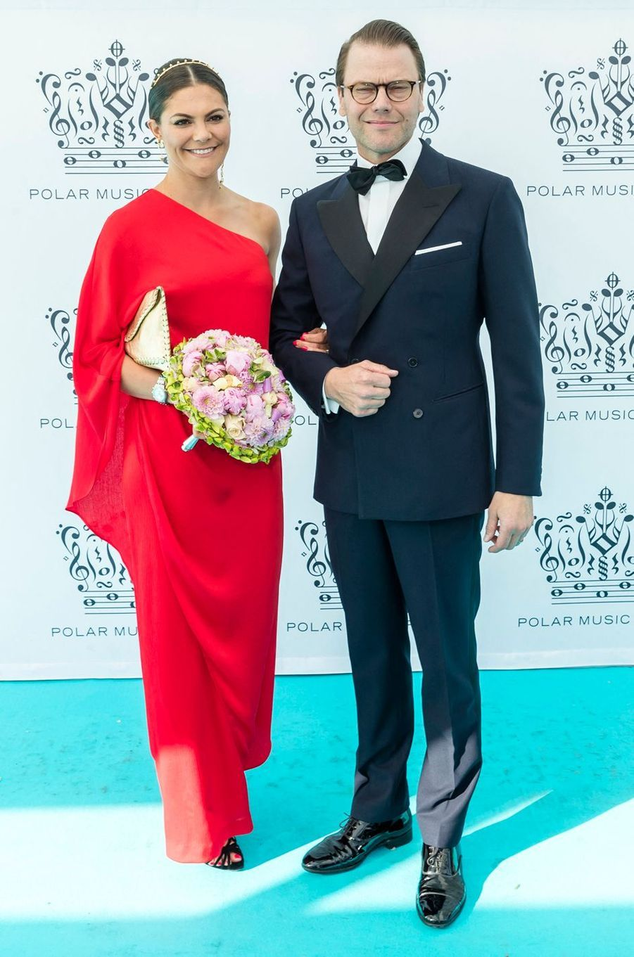 La princesse Victoria de Suède dans une robe Stylein au Polar Music Prize, le 14 juin 2018