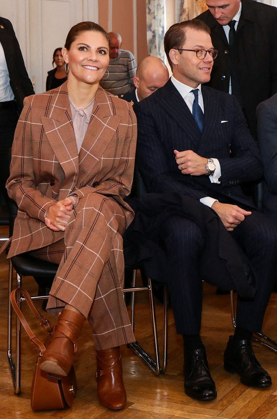 La princesse Victoria de Suède en Bosnie-Herzégovine, le 7 novembre 2019