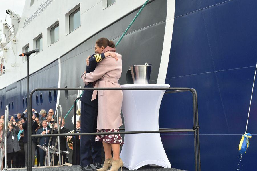 La princesse Victoria de Suède, le 25 septembre 2019 à Lysekil