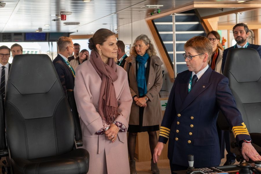 La princesse Victoria de Suède à Lysekil, le 25 septembre 2019