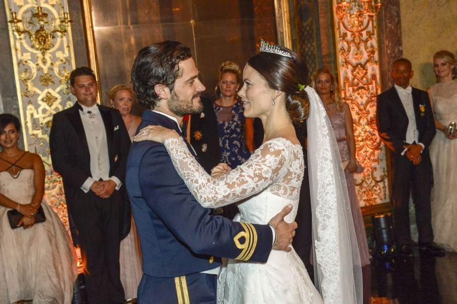 Le bal du mariage du prince Carl Philip et de Sofia Hellqvist, le 13 juin 2015