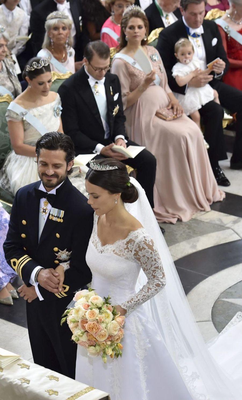 Le mariage du prince Carl Philip et de Sofia Hellqvist, le 13 juin 2015