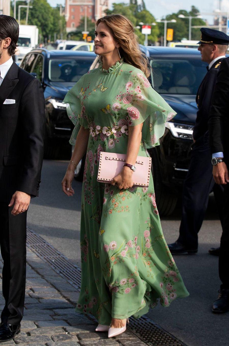 La princesse Madeleine de Suède à Stockholm, le 14 juin 2018
