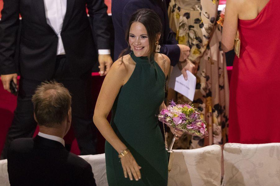 La princesse Sofia de Suède à Stockholm, le 14 juin 2018