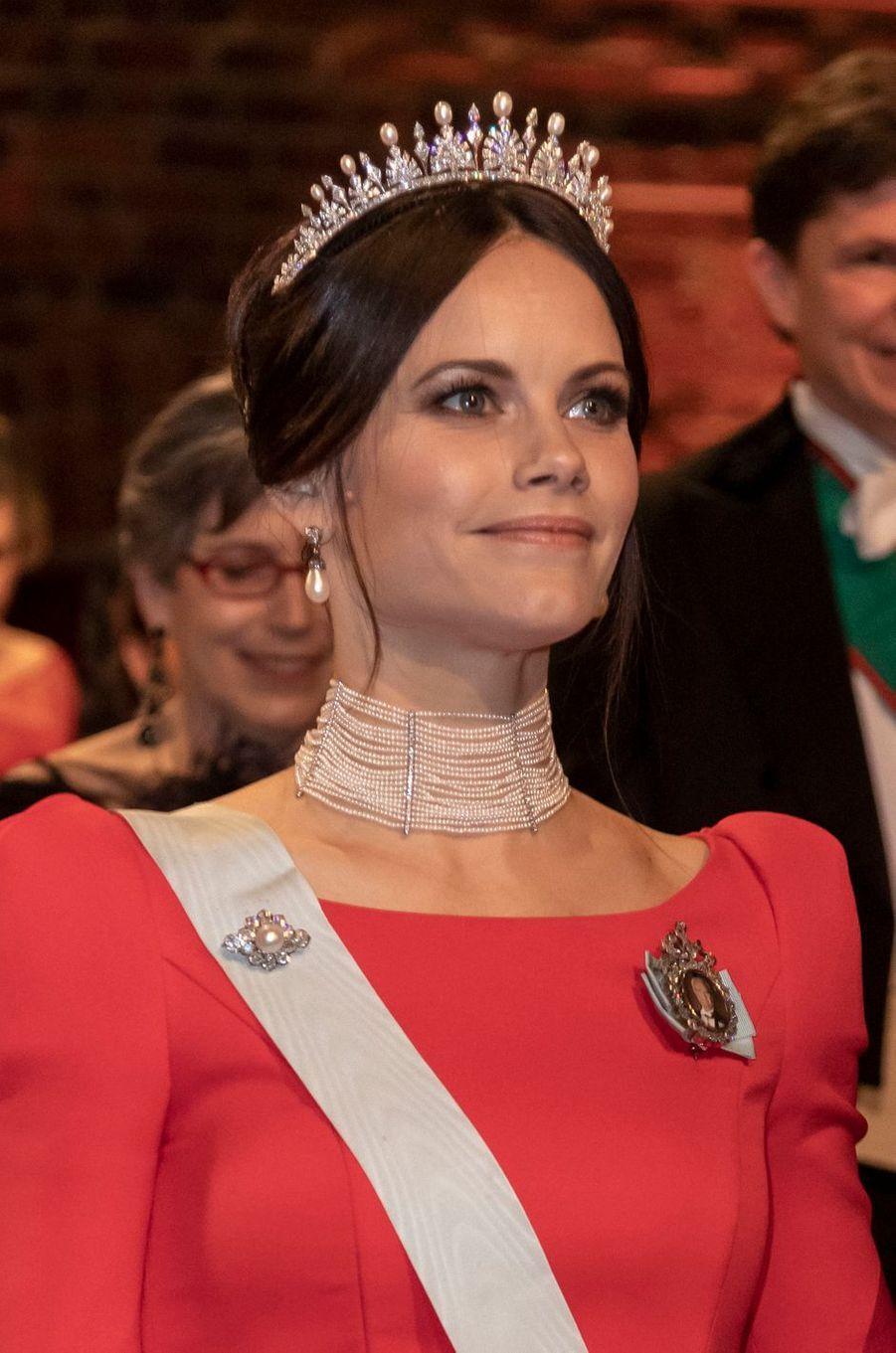 La princesse Sofia de Suède pour les Nobel, le 10 décembre 2018