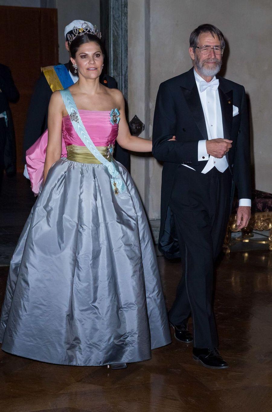 La princesse Victoria de Suède pour les Nobel, le 10 décembre 2018