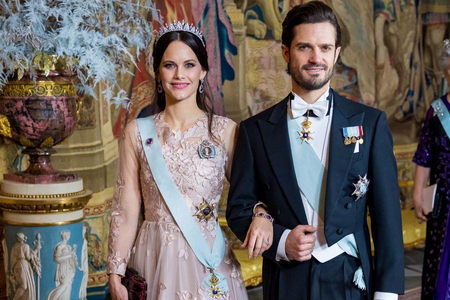 La princesse Sofia de Suède pour les Nobel, le 11 décembre 2018