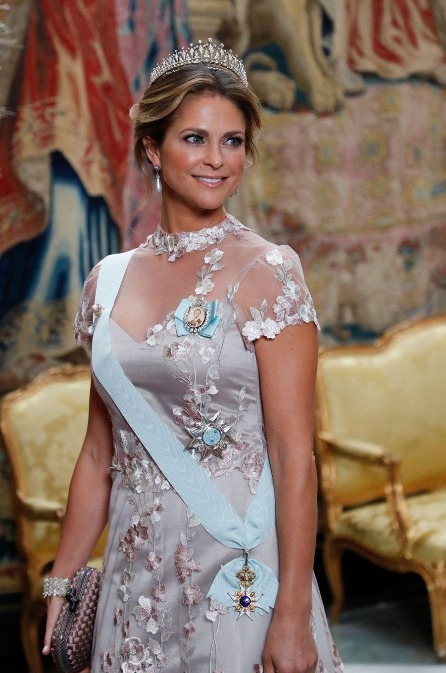 La princesse Madeleine de Suède, à Stockholm le 11 décembre 2019