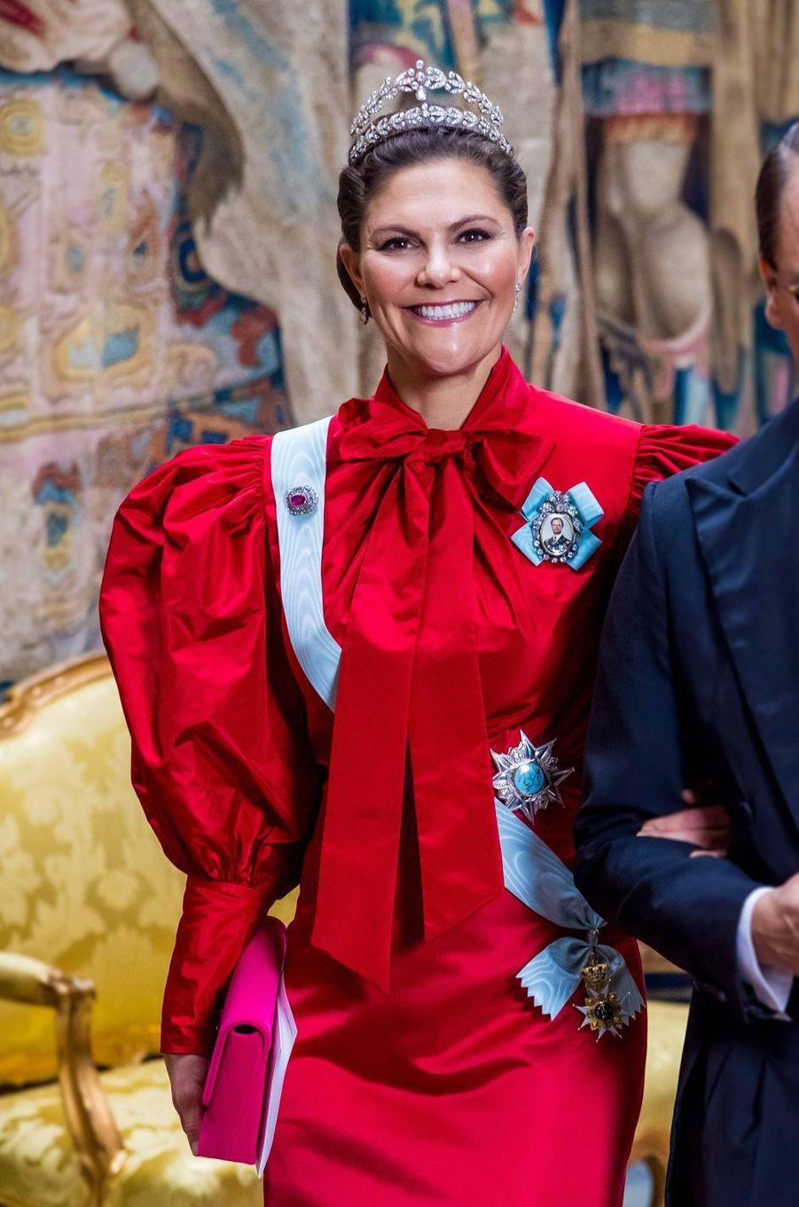 La princesse Victoria de Suède, à Stockholm le 11 décembre 2019