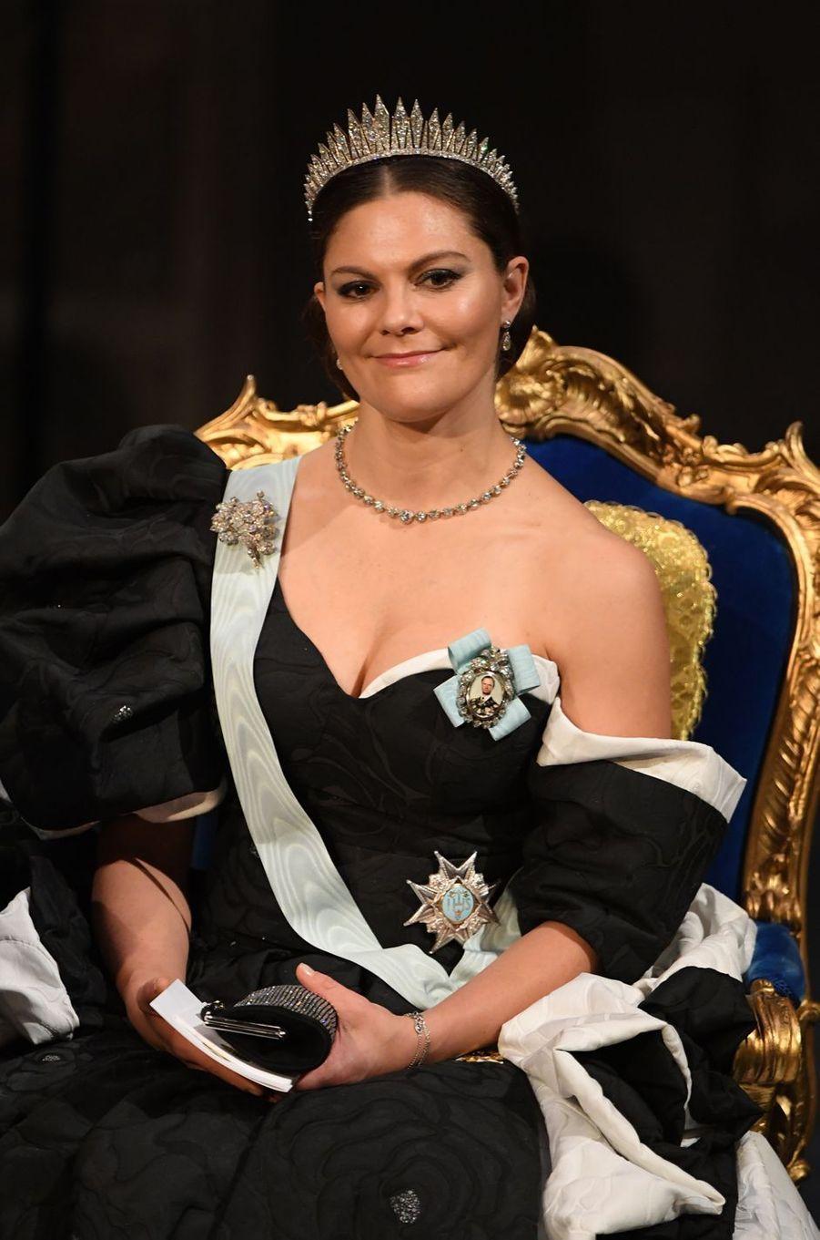 La princesse Victoria de Suède, à Stockholm le 10 décembre 2019