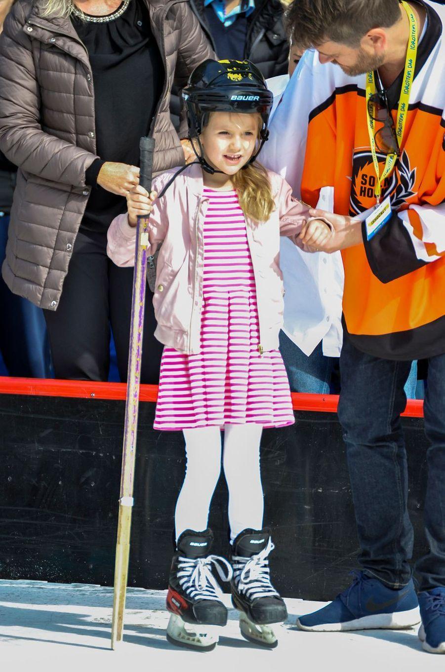 La princesse Estelle de Suède à Solna, le 10 septembre 2017