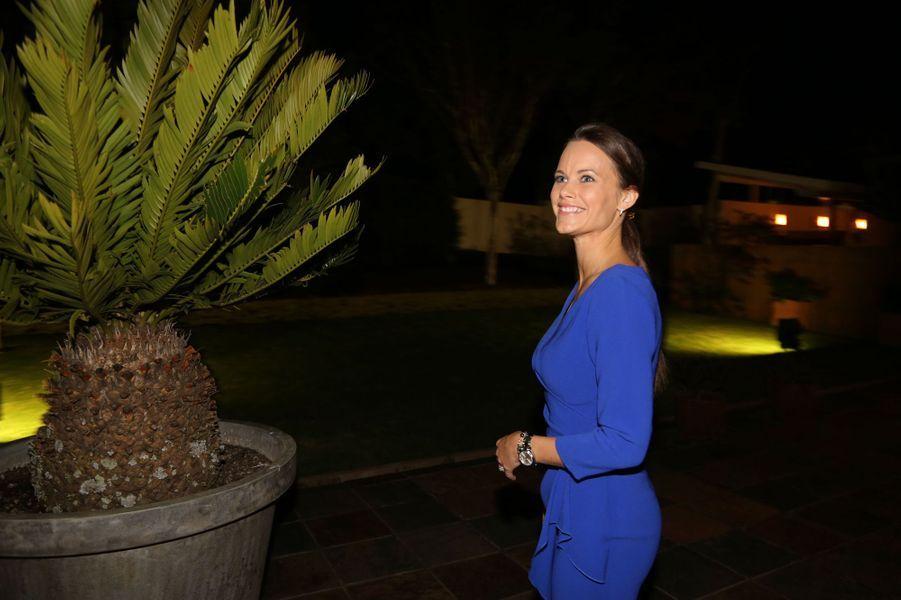 La princesse Sofia de Suède à Pretoria, le 7 septembre 2015