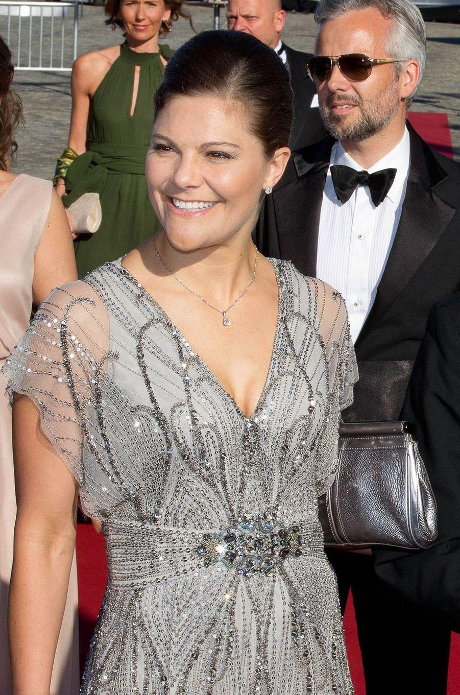 La princesse Victoria de Suède, le 12 juin 2015