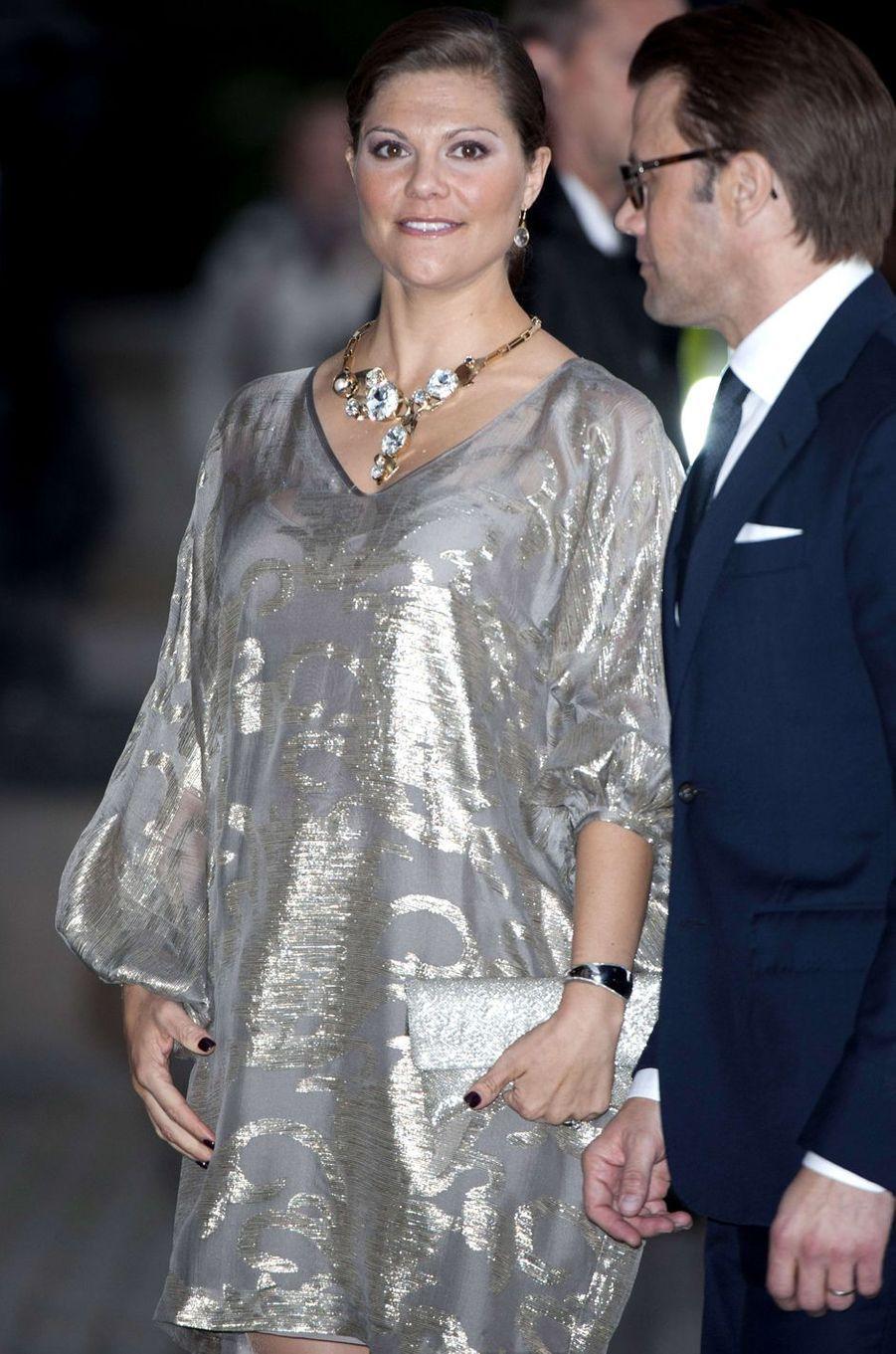 La princesse Victoria de Suède, le 15 septembre 2011