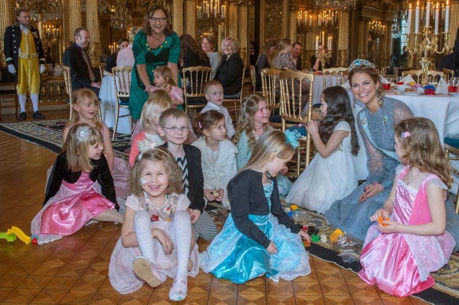 La princesse Madeleine de Suède, le 22 février 2016